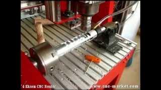 4 Eksen CNC - 4 Axis CNC - www.cnc-market.com