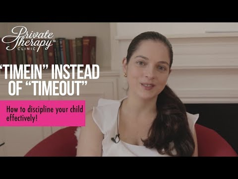 Time in instead of Time out | How to discipline your child effectively