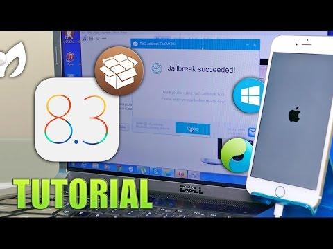 Jailbreak iOS 8.3 (Tutorial Novatos) 3 SIMPLES PASOS