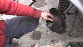 Мерседес w123 замена переднего подшипника ступицы