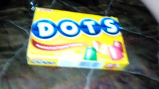 DOTS candy unboxing