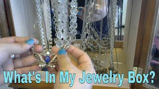 Whats in my Vintage Jewelry Box Kate Spade, Tiffany & CO. Brighton, Sterling Silver, Gold