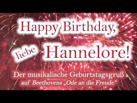 Happy Birthday, liebe Hannelore!