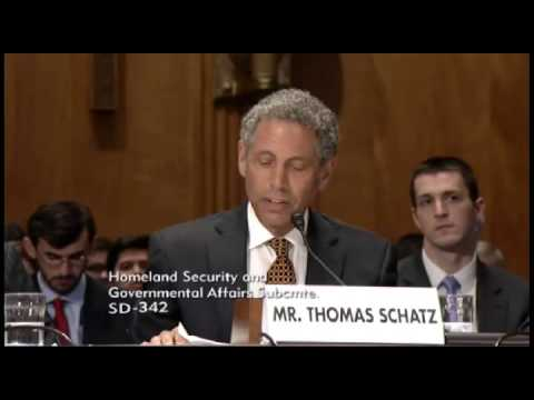 Testimony Before the Senate Committee on Homeland Security and Government Affairs