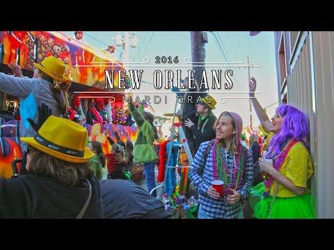 Bacchus Parade New Orleans - Mardi Gras 2016