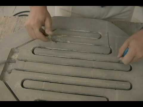 Replacing a Lid Heating Element (Ball Groove Type): Paragon Kiln  Maintenance Series