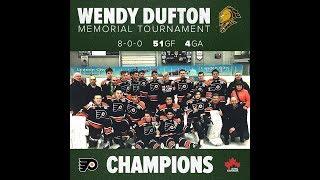 '03 Don Mills Flyers vs Toronto Marlboros Finals  !!! ____  MN MDGT WENDY DUFTON  MEMORIAL  2018