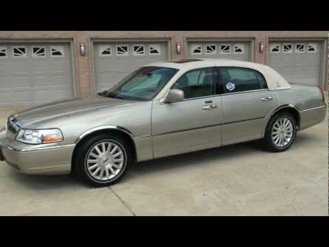 2004 Lincoln Town Car Ultimate Tharney Edition Low Miles Sunroof For