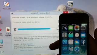 Jailbreak iOS 7 - 7.0.6 unteathered via Evasion (all iDevices)