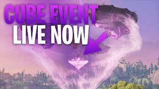 Fortnite - Cube Event Countdown! Solos & Playing w/subs until Cube event actually happens. :)