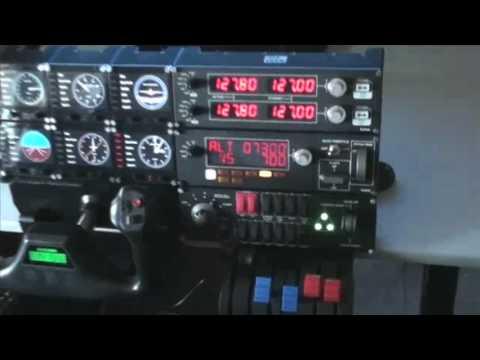 Saitek ProFlight Sim Full Set-up and Demonstration, Part 2