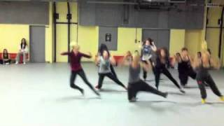 Lady Gaga - JUDAS choreography by Filip and Joelle part I