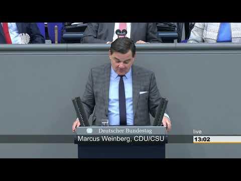 Bundestagsdebatte: KINDERZUSCHLAG - Marcus Weinberg (CDU/CSU)