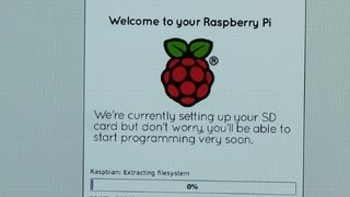 Install an operating system on the Raspberry Pi