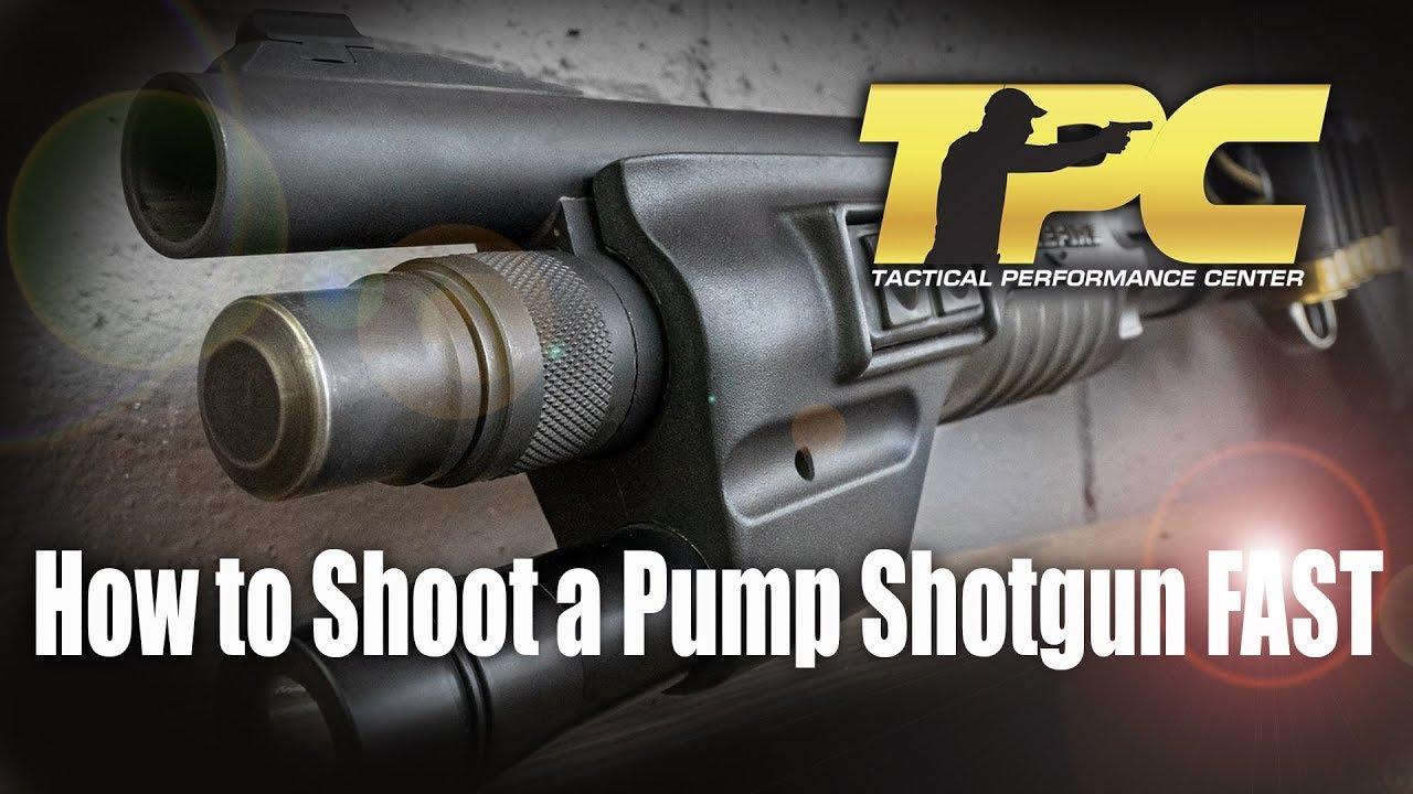 how to break down a pump shotgun