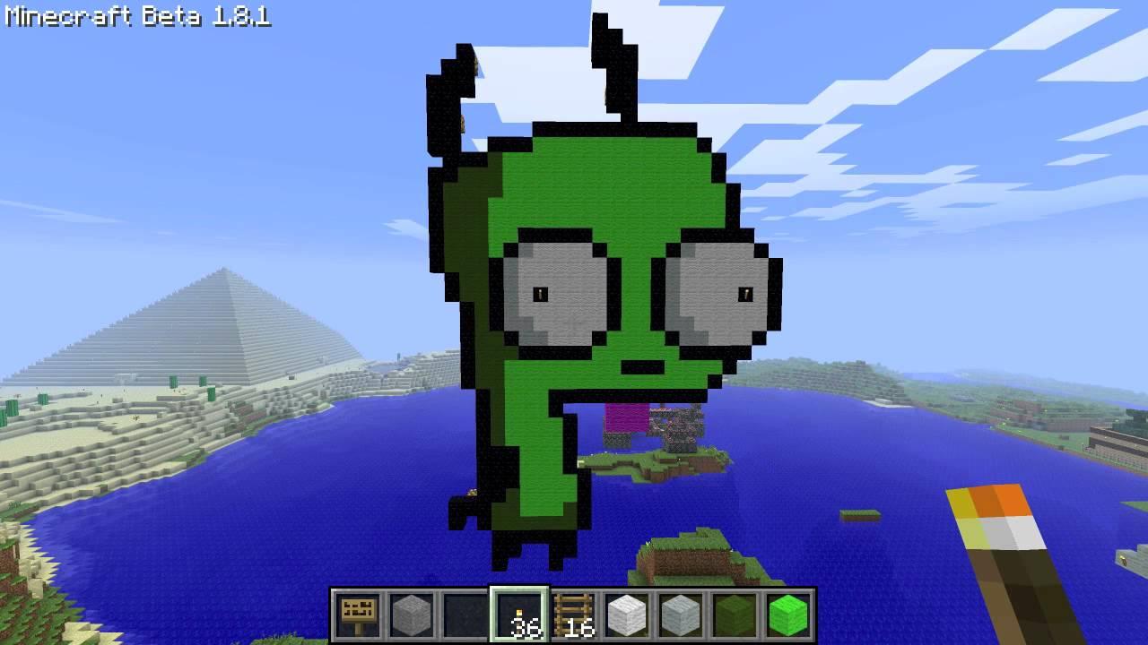 Invader Zim Pixel Sprites