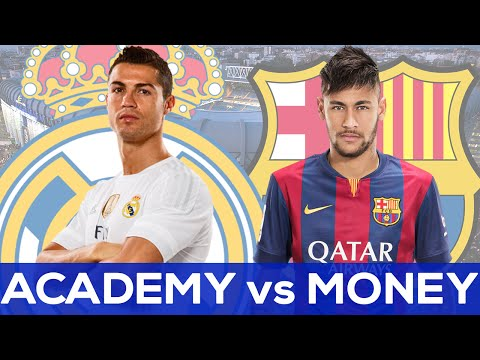 Real Madrid vs FC Barcelona | Academy vs Money?? | QUESTION OF THE WEEK | #ASKRG
