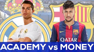 Real madrid vs fc barcelona | academy money?? question of the week #askrg