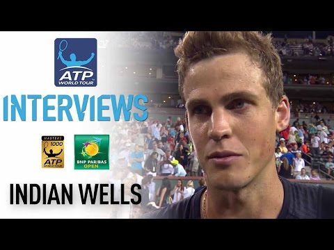 Pospisil Thrilled By Murray Win At Indian Wells 2017