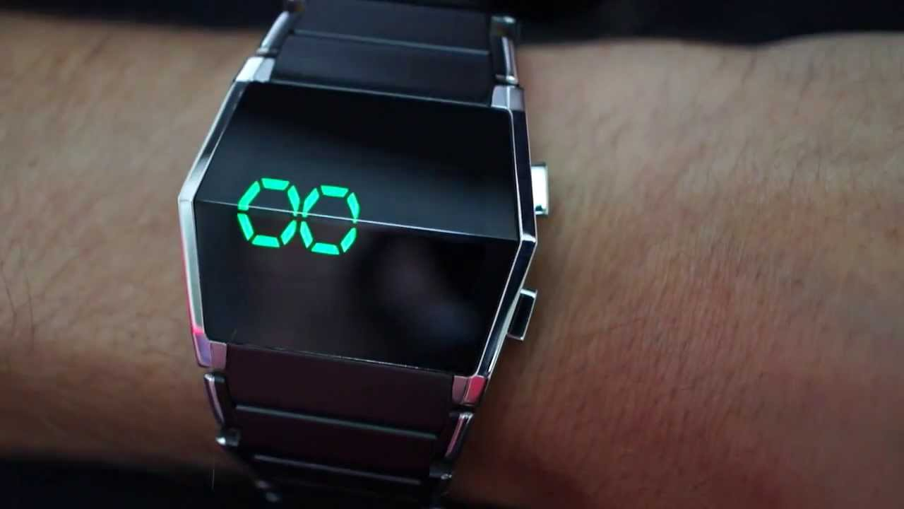 Kisai Xtal Cool LED Watch Design From Tokyoflash Japan ...