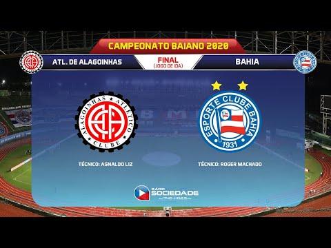 Atlético-BA x Bahia - Baianão - |FINAL| - Rádio Sociedade