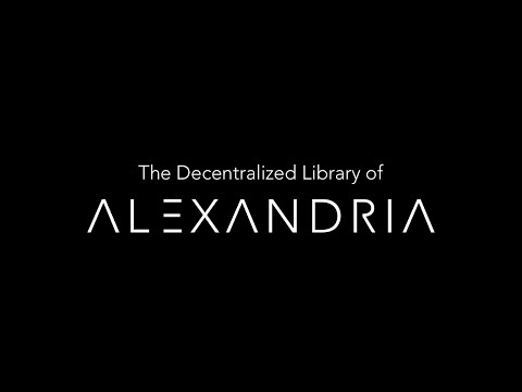 Alexandria v0.5.1 alpha demo