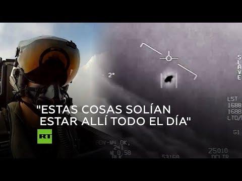 Pilotos De EEUU Hablan Sobre Avistamientos De Ovnis
