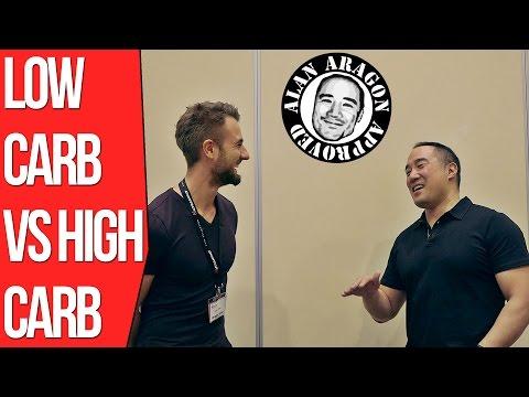 Low Carb vs High Carb Diet ft. Alan Aragon