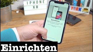 iPhone XR einrichten (Schnellstart) - DEUTSCH