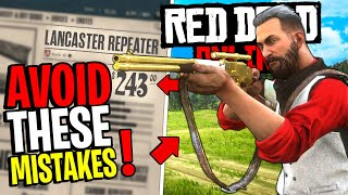 7 Common Mistakes New Players Make - Red Dead Online PC | Tips & Tricks