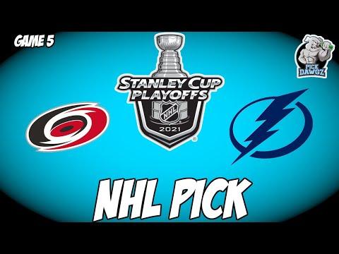 Tampa Bay Lightning vs Carolina Hurricanes 6/8/21 Free NHL Pick and Prediction NHL Betting Tips
