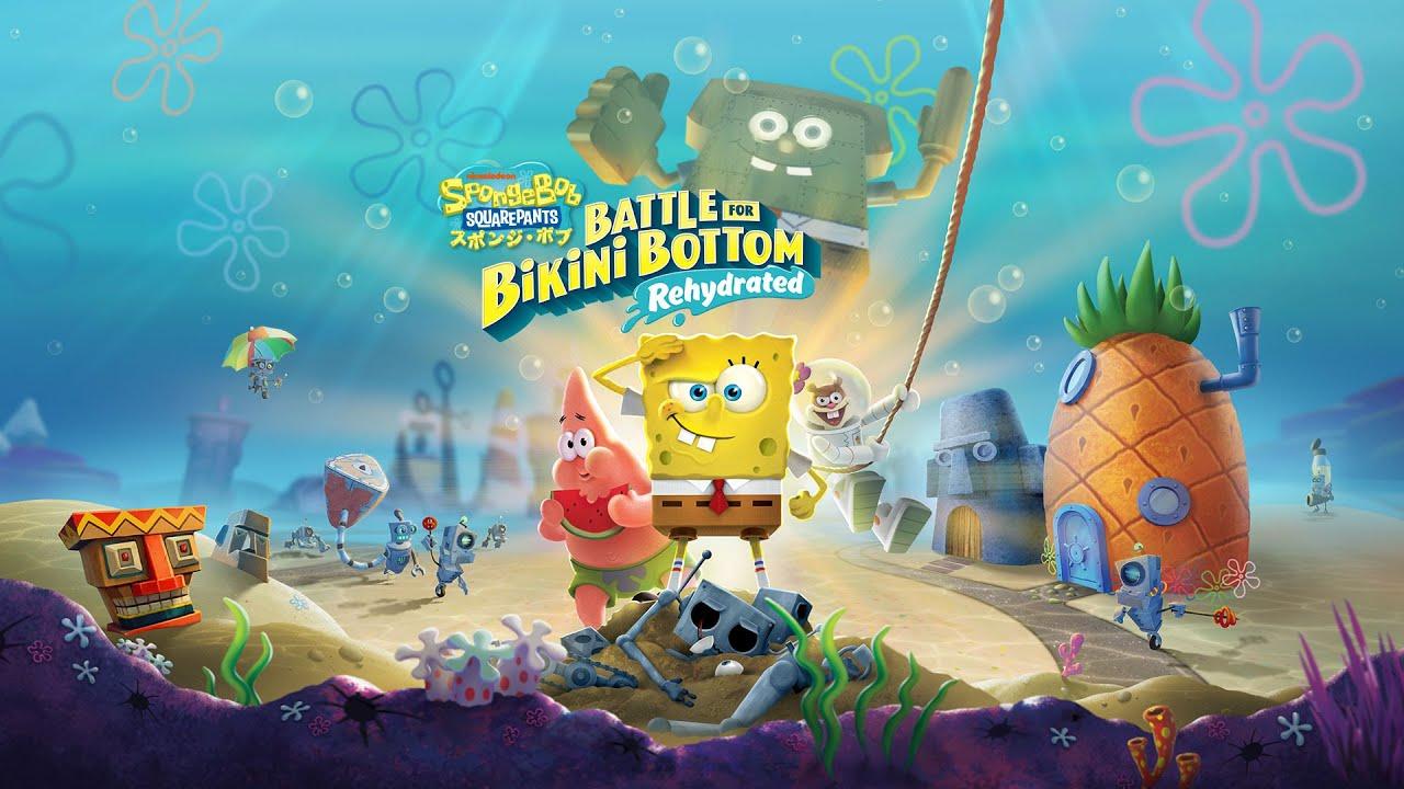 『スポンジ・ボブ:Battle for Bikini Bottom – Rehydrated』紹介動画
