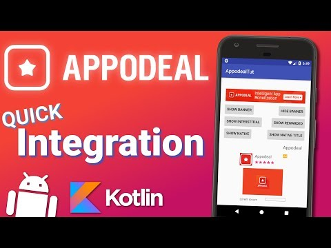 Appodeal Android Integration Tutorial - Native, Banners, Interstitials, Rewarded Videos
