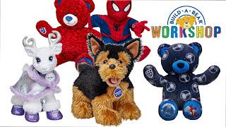Build-a-Bear Workshop Promise Pet - Spiderman - Thor - Glisten - Boba Fett - Snoopy