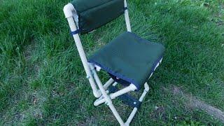 Розкладний стілець для риболовлі своїми руками з поліпропіленових труб