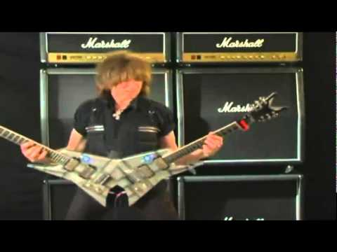 Michael Angelo Batio - double guitar playing