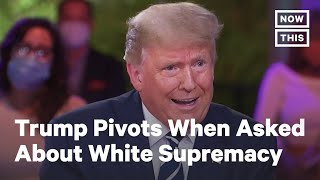 Trump Pivoted to Antifa When Asked to Denounce White Supremacy | NowThis