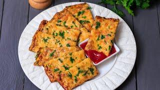Сырные хлебцы из кабачков — видео рецепт