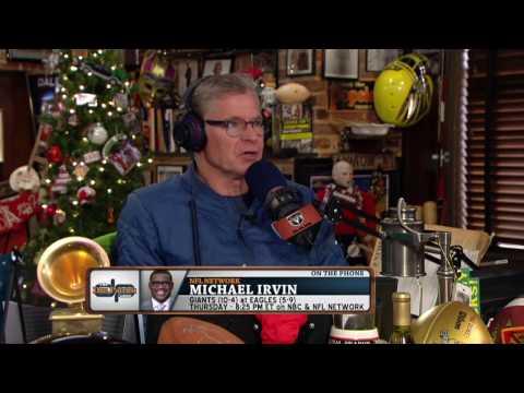 マイケル・アービン、NFLの初給料を思い出す