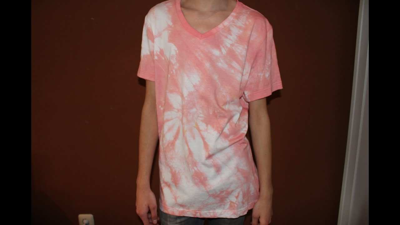 Fashion DIY: Batik T Shirt Shirt Tie Dye   YouTube