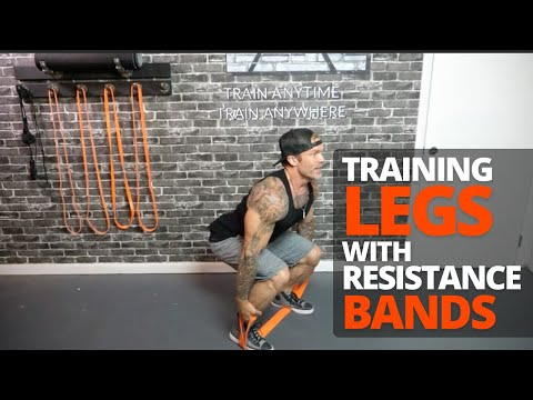Resistance Band Tip: Training Legs with Resistance Bands