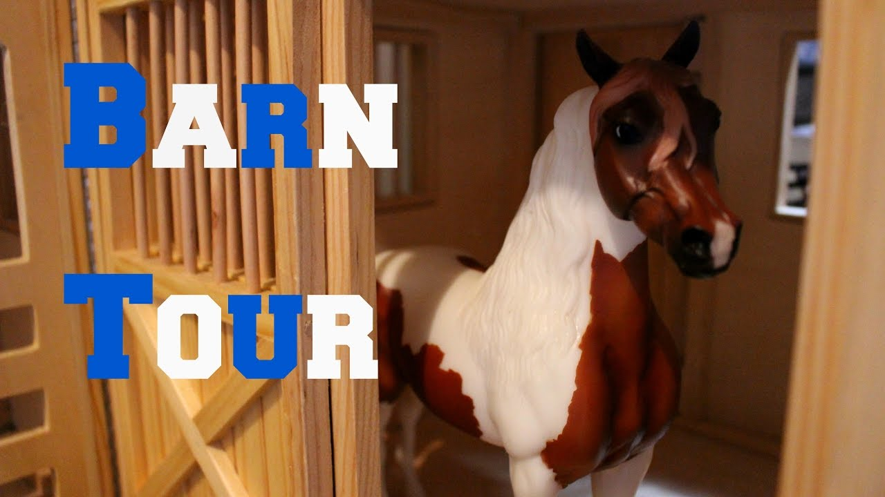 Breyer Barn Tour! 2017 - YouTube