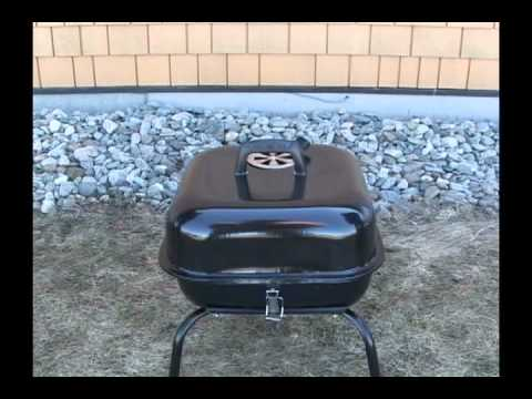 instaflam bbq avec briquettes de charbon de bois youtube. Black Bedroom Furniture Sets. Home Design Ideas