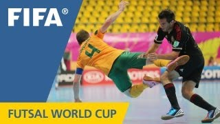 Aussies flip for joy against El Tri