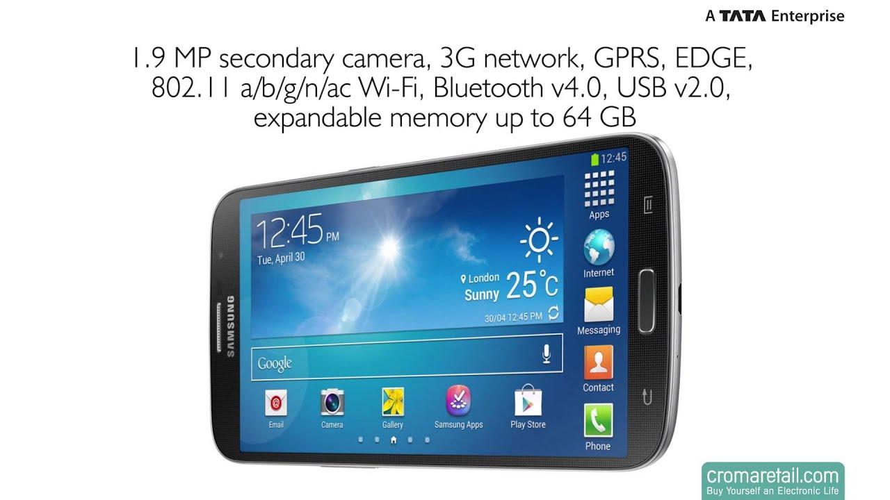 Samsung Galaxy Mega 6.3 Review - YouTube