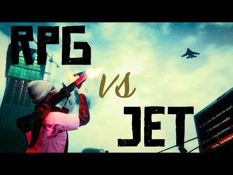 (GTA 5 Online) RPG Vs Jets Montage 34