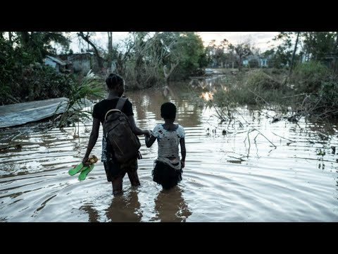 Mounting fears for children separated from parents after Mozambique's cyclone