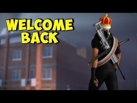 WELCOME BACK! -