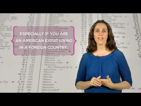 If you are an American Expat living in a foreign country