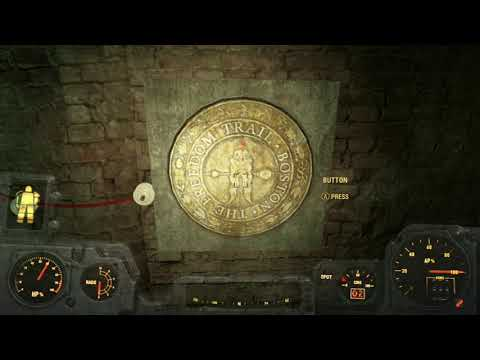 fallout 4 railroad location and password youtube
